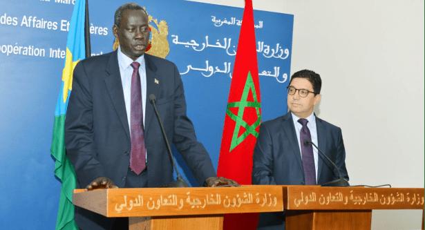 وزير الشؤون الخارجية والتعاون الدولي لجمهورية جنوب السودان